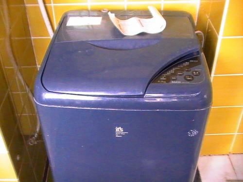 洗濯機 SHARP ES-GE60Lデビュー