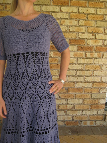 The Lily Chin Lace Dress with Sleeves
