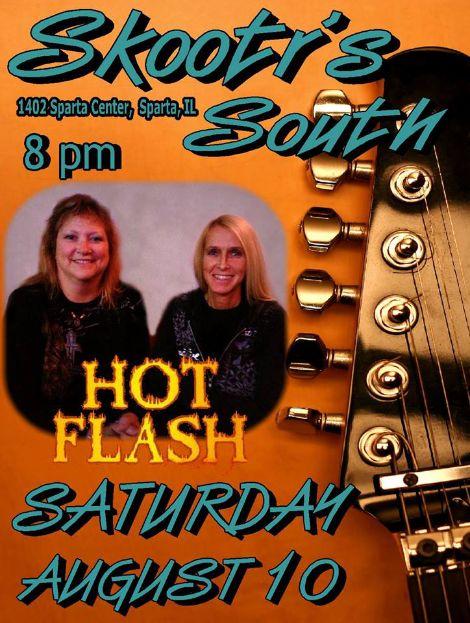 Hot Flash 8-10-13