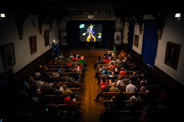 Dave Cornthwaite's lecture at the Adventure Travel Film Festival