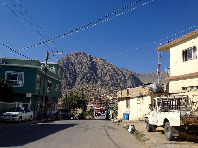 Mountains Around Amedy