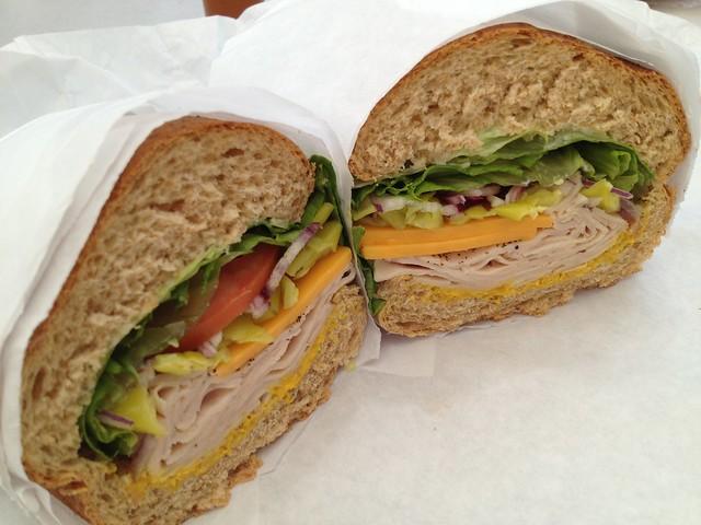 Roast turkey sandwich - Los Gatos Meats & Smokehouse