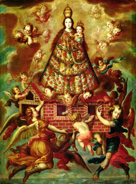 Translado de la Santa Casa de Loreto