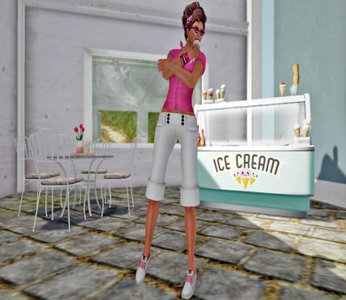 Summer Days and Ice Cream