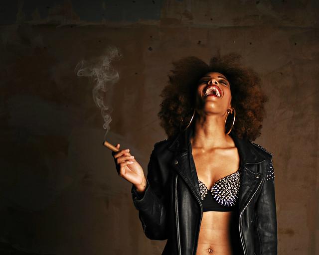 Bellylaugh and a Cigar