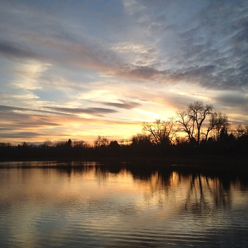 Tonight's #sunset #denver by @MySoDotCom