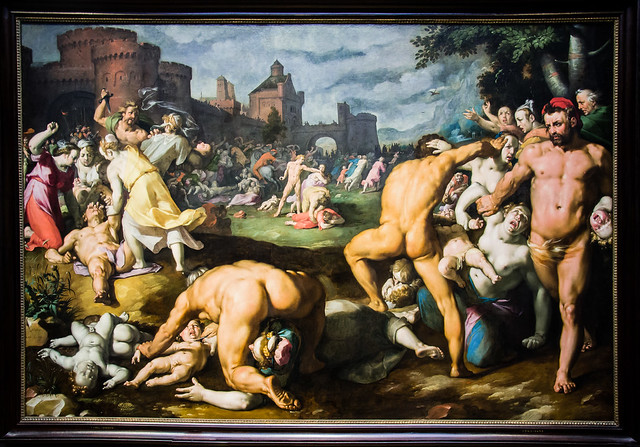 The Massacre of the Innocents, Cornelis Cornelisz van Haarlem, late 1500s to early 1600s, Rijksmuseum, Amsterdam.