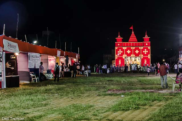 Utsab Durga Puja Pandal