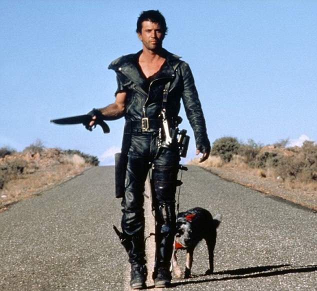 Mad Max takes the highway in his MCF leathers and knee-high leather boots. Credit: Warner Bros Pictures
