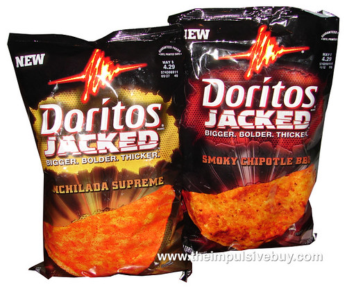 Doritos JACKED Smoky Chipotle BBQ and Enchilada Supreme