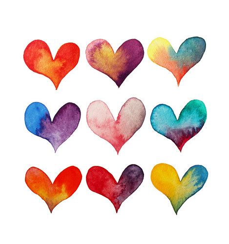 Color of hearts
