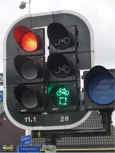 Netherlands - traffic light