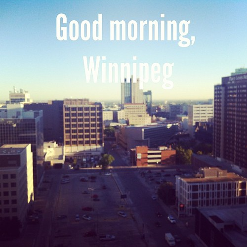 Early morning #sunrise over downtown #prettyviews  #madewithOver