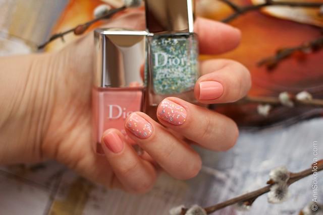03 Dior #244 Majesty + Dior Top Coat Eclosion