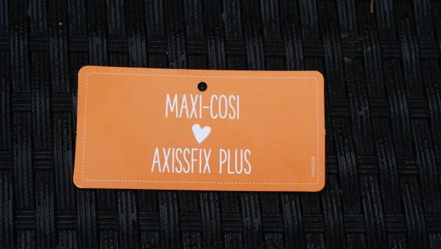 maxi cosi axissfix plus achterstevoren autostoel