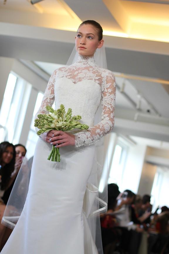 Oscar de la Renta Bridal 2013 83