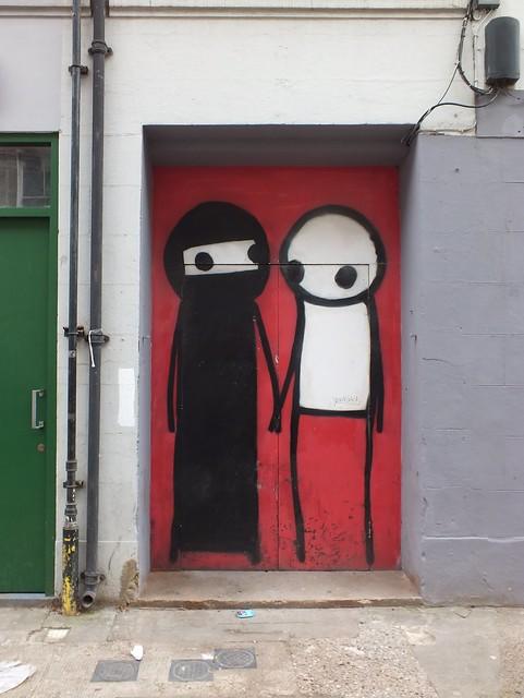 Stik Graffiti, Shoreditch, London