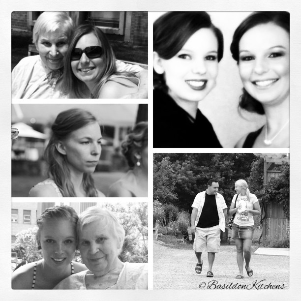 Aug 6 - this means a lot to me {my family} #fmsphotoaday #family #mother #daughters