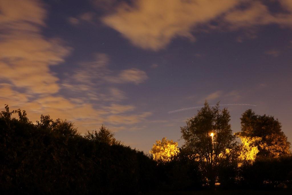 Un ciel de fin d'été ...