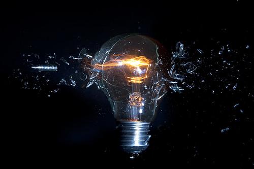 bulb burst