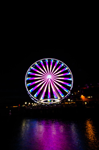 Seattle Great Wheel October 2013