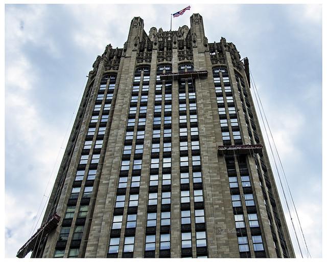 Washing the Chicago Tribune