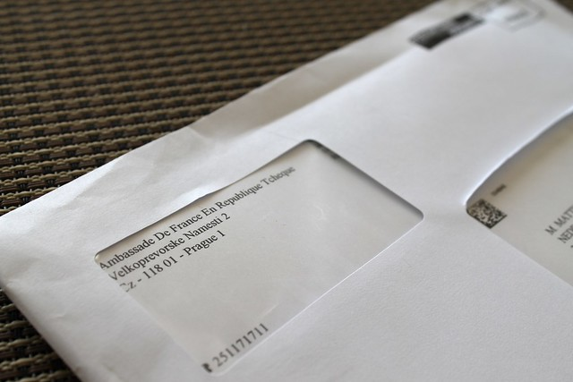 Courrier de l'ambassade avant les présidentielles 2012