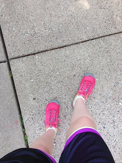Hot day for a run
