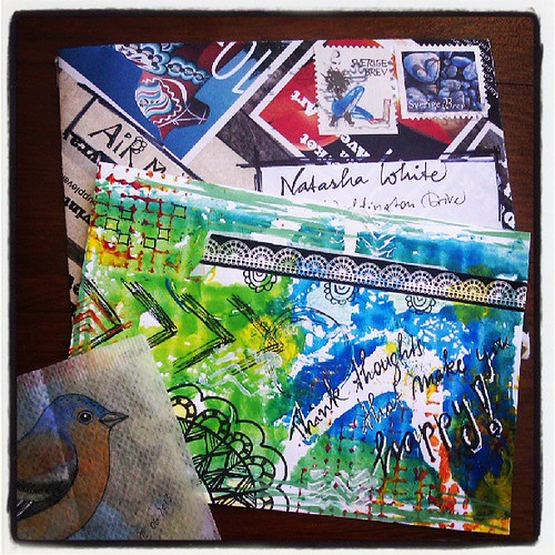 Mail art makes me very happy!