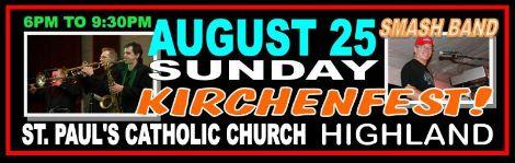 Smash Kirchenfest 8-25-13