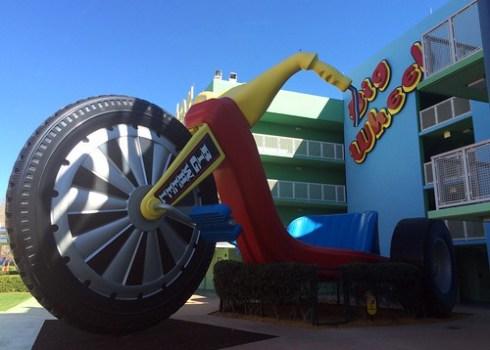 Orlando - Disney World - Disney's Pop Century Resort - Giant Big Wheel