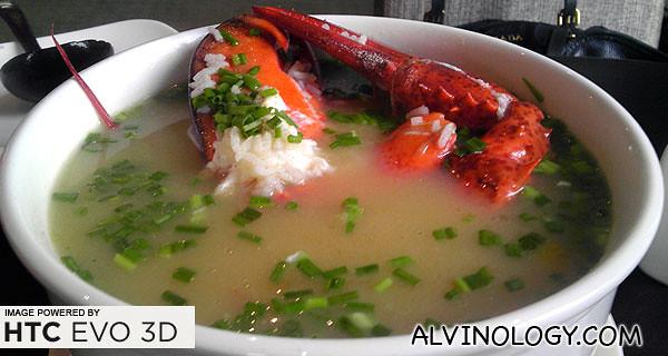 Highlight lobster porridge
