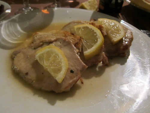 Scaloppine di Vitello al Limone