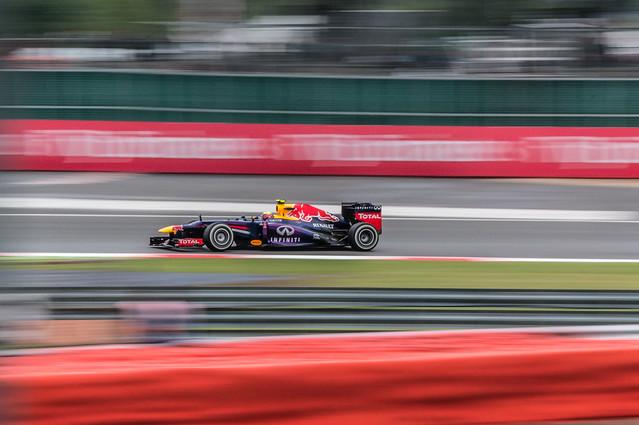 Silverstone - Vettel FP2