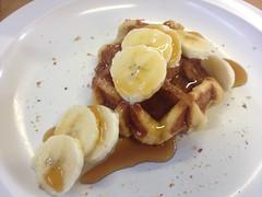 waffles for breakfast, summer camp