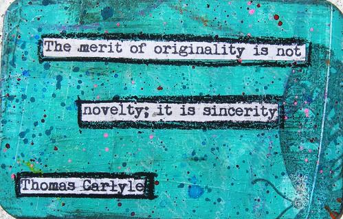 Thomas Carlyle Creativity Quote