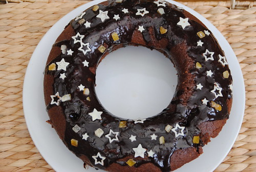 Chocolate Orange Olive Oil Bundt cake