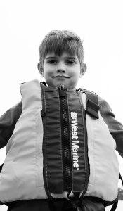 Colin's life jacket