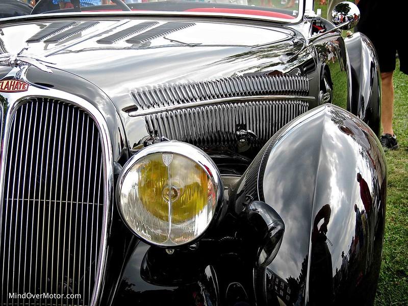 1938 Delahaye 135M Roadster Figoni et Falaschi