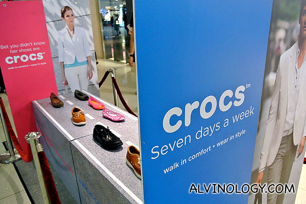 New Crocs New You - seven days a week of Crocs