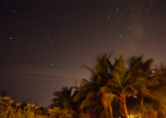 Night Sky near Pondicherry