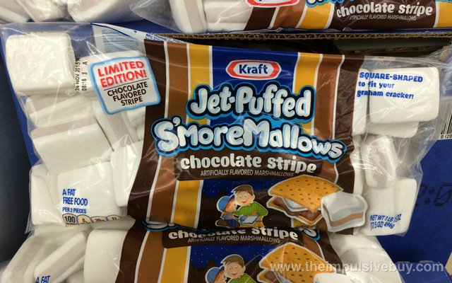 Kraft Limited Edition Chocolate Stripe Jet-Puffed S'mores Mallows