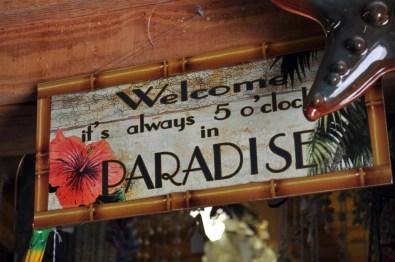 Siempre son las 5 en punto en el paraíso