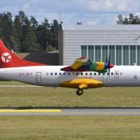 Danish Air Transport OY-JRY Aerospatiale ATR 42-312 #OSL