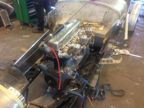 Alvis Speed 25 motor