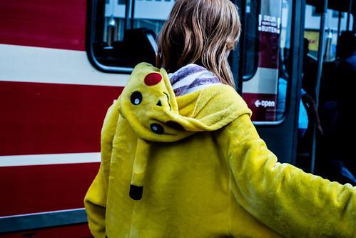 Pikachu (Pokémon) by Pascal Maramis