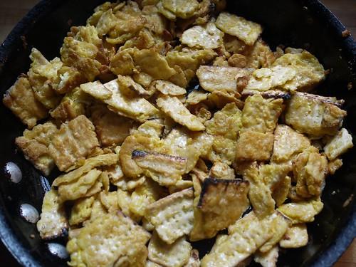 Matzo brei - Fried