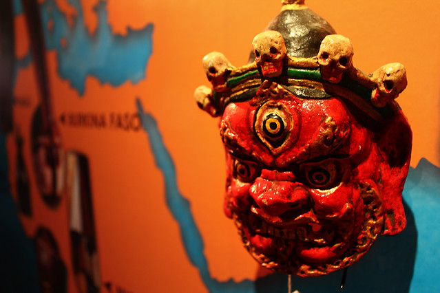 'Masks of the world' exhibition - KL