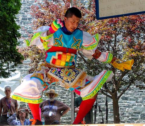 Chankas Perivian Scissor Dance 6 by Christopher OKeefe