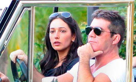 Simon Cowell out and about in Los Angeles, America - 27 Oct 2012